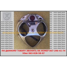 Накладка выноса руля (хром) Yamaha Vino 2T. Оригинал!