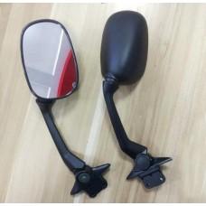 Купить Зеркала  Л+П (HC-611) TMAX 530 (2012) черные (короткие), ЗАВОД