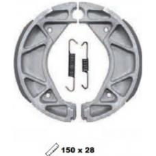 Купить Колодки тормозные задние YAMAHA BWS125\CYGNUS X (150мм.*28мм) на блистере YS8020(Y533), TWH Тайвань