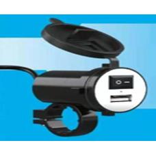 Купить Зарядное USB (крепление на руль), КИТАЙ
