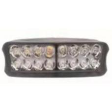 Купить Доп-свет ЛАМПА 16 LED диодов черная (пластик), КИТАЙ
